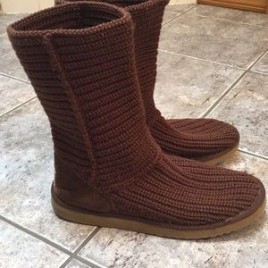 UGG Classic Knit Boots